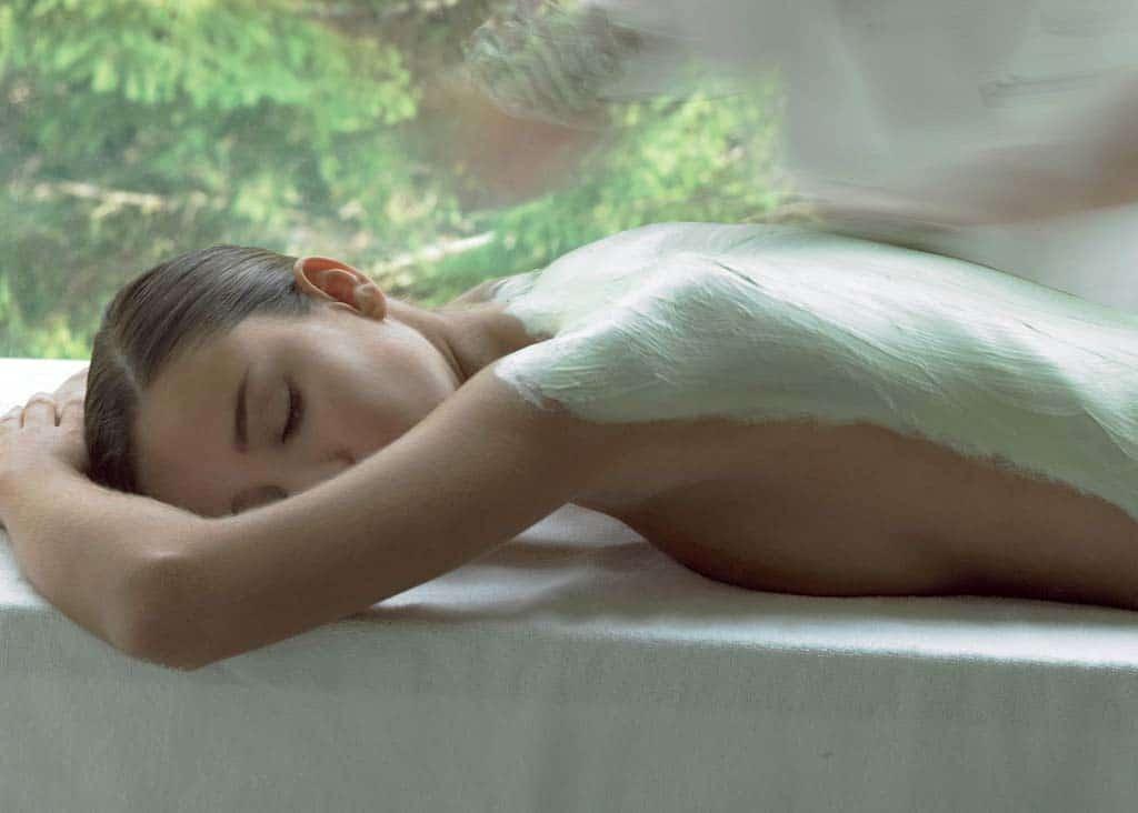 masaža leđa + maska od gline tonus relaxo